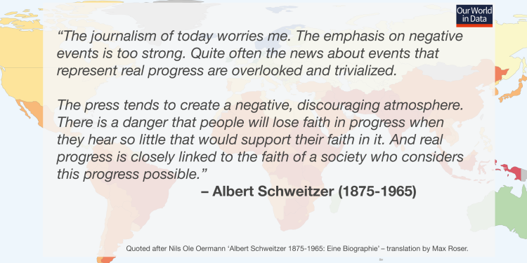 Ourworldindata schweitzer english quote