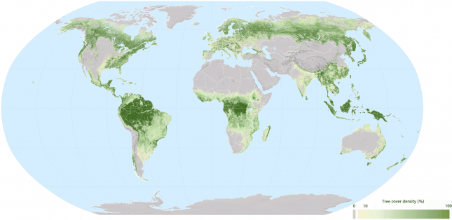 The-World's-Forest-Cover-Density-(2010)-FAO