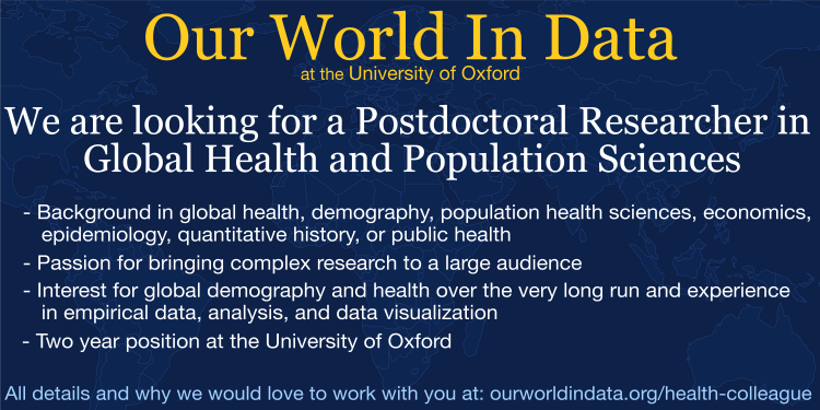 Post doc position health and demography