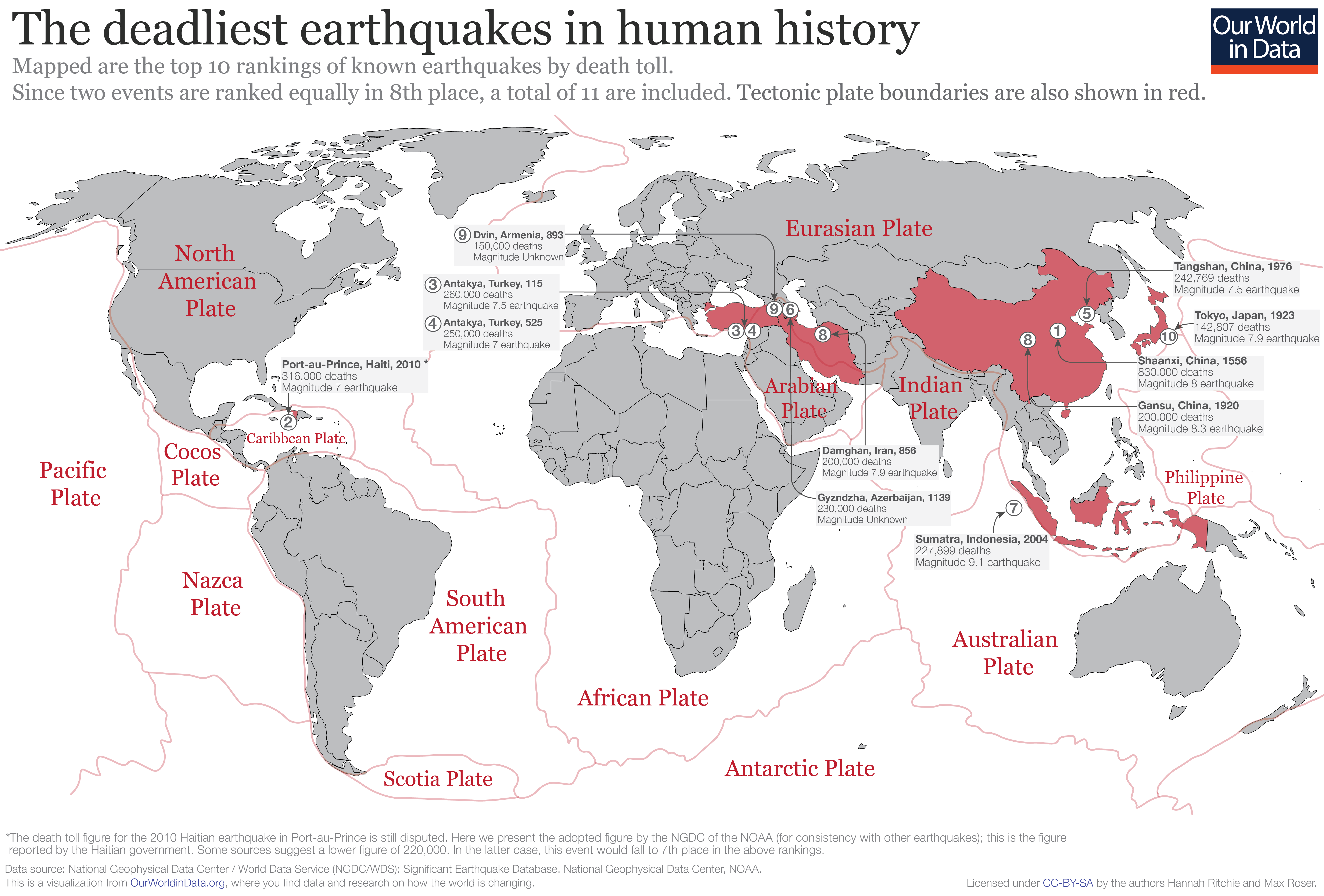 What were the world's deadliest earthquakes? - Our World in Data Earthquake Risks Australia Map on earthquake results, landslide risk map, wildfires map, volcano risk map, natural disaster risk map, earthquake home, water contamination risk map, risk assessment map, terrorism risk map, fire risk map, star wars risk map, cyclone risk map, hail risk map, nuclear risk map, drought risk map, mass wasting risk map, earthquake safety, tsunami risk map, tornado risk map, lightning risk map,