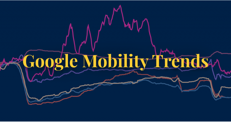 COVID-19 policy Google mobility trends