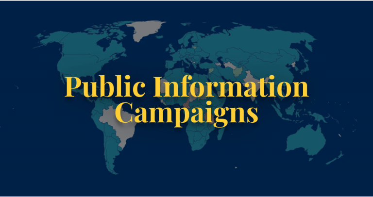 COVID-19 policy public information campaigns