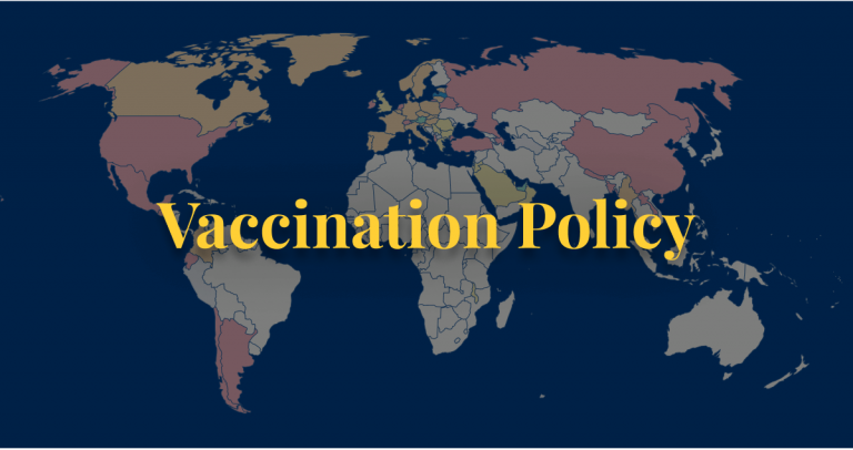COVID-19 policy vaccinations