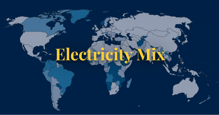 Electricity mix