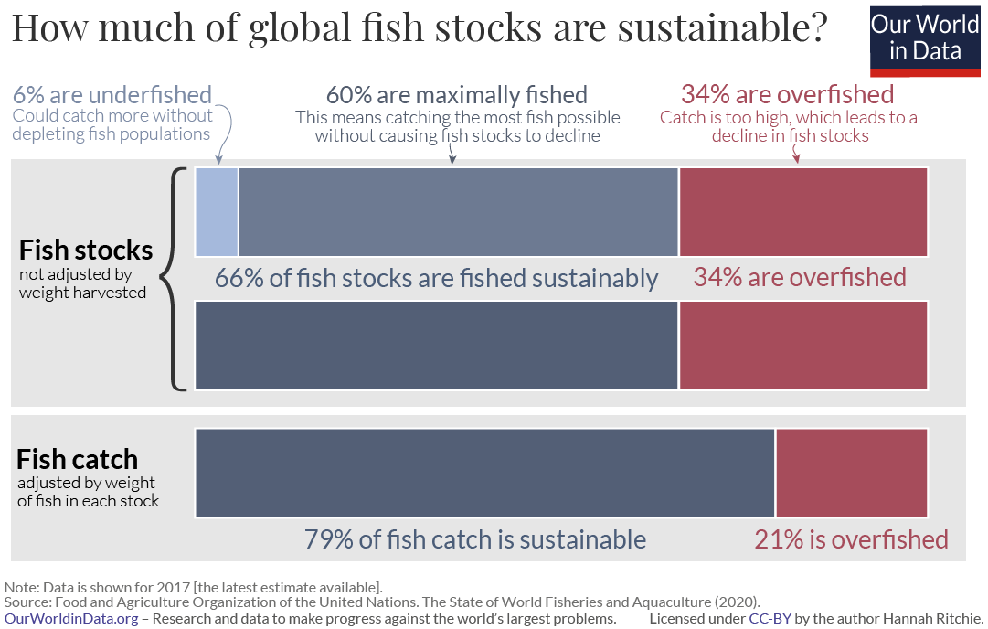 Global sustainability of fish stocks